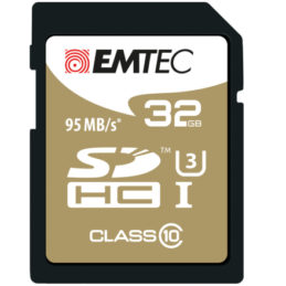 32GB Emtec SDHC CL10 95MB/s