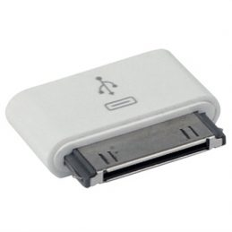 Kompatibel Micro USB / 30-pin Adapter - iPad 3, iPhone 4 / 4S, iPod Touch - Vi