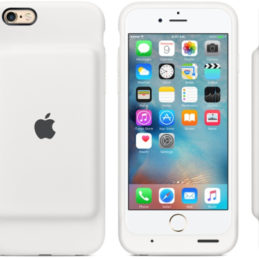 Apple Smart Battery Case (iPhone 6/6S) - Grafitgrå