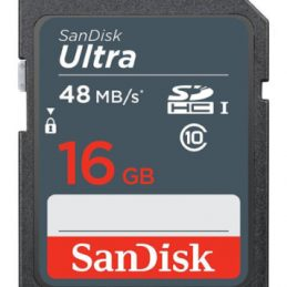 16GB SanDisk Ultra SDHC Class 10 UHS-I 48MB/s