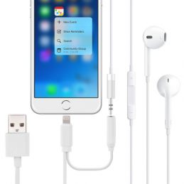 Ligthning & 3.5mm till USB ljud Adapter iPhone 7 / iPhone 7 Plus / iPhone