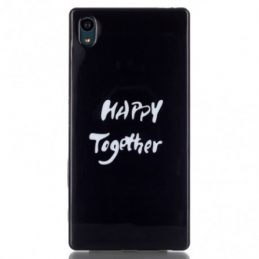 Sony Xperia Z5 TPU Skal Happy Together