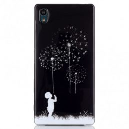 Sony Xperia Z5 TPU Skal Little Boy and Dandelions