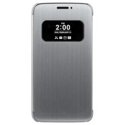 LG G5 Quick Cover CFV-160 Flip Fodral - Silver
